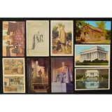 Lot of 9 Vintage Abraham Lincoln Postcards