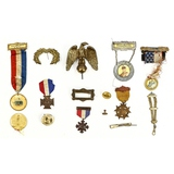 Misc. GAR/USV US Medals & Awards