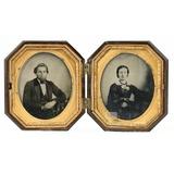 1/6 Double Tintype Civil War-Era Civilian Images