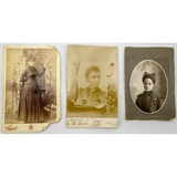 African-American Cabinet Cards (3)