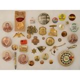 Lot of GAR Encampment Medal & Election Pins