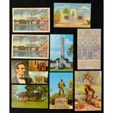 9 Lincoln Postcards