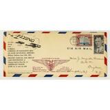 Elkhart's Airport Opening Invitation Envelope