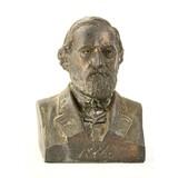 Robert E Lee Metal Bust