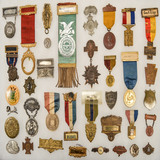 Lot of US Medals and Ribbons