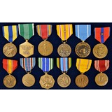 Lot of 12 US Medals