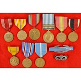 Lot of 11 US Korean War Medals