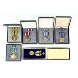 Lot of 6 US Replacement Medals