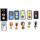 Lot of 12 Military Medals