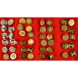 46 US Korean/Vietnam War Collar Insignias