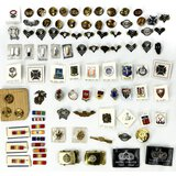 Lot of 95 Misc. US Insignias