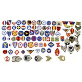 Lot of 91 US WWII Patches