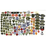 Lot of 135+ US Patches