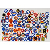 Lot of 82 US WWII Patches