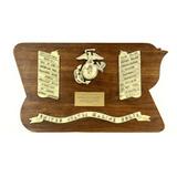 USMC Battle Plaque