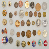 Lot of Misc. Coins & Buttons