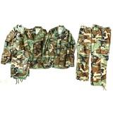 6 Post Vietnam US Army Battle Jackets & Trousers