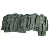 6 Vietnam U.S. Army Dress Jackets & 1 Trouser