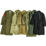 US Armed Services Long Overcoats