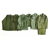 6 Vietnam Era Army & USAF Fatigues