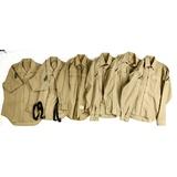 6 Vietnam Era USMC Khaki Shirts