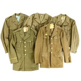 Lot of 5 WWII US Jackets