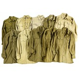 Lot of 10 US WWII Shirts
