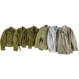Assorted Foreign Military Dress Jackets