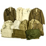 Lot of Military Uniforms