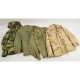 4 Vietnam & Post Vietnam U.S. Army Field Jackets