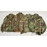 4 Post Vietnam US Army Camo Field Jackets