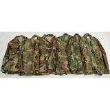 6 Post Vietnam US Army Camo Battle Dress Jackets