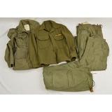 4 Vietnam US Army Trouser Shell & Field Jackets
