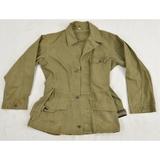 WWII U.S. Army Green Herringbone Field Jacket