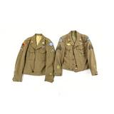 Lot of 2 WWII US Ike Jackets