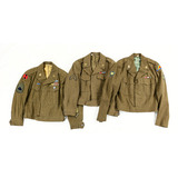 Lot of 3 Post WWII US Ike Jackets