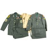 Lot of 2 US Enlisted Men Dress Uniform Jackets