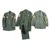 Lot of 3 US Army Enlisted Men Uniform Jackets