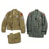 Lot of 2 US Military Dress Uniforms