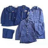 Lot of 4 US Military Dress Uniform Jackets