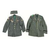 Lot of 2 Named US Military Dress Uniform Jackets