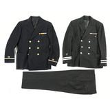 Lot of 2 US Navy Dress Jackets