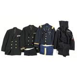 Lot of 4 US Navy Dress Jackets