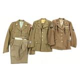Lot of 3 US Military Dress Uniform Jackets