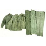 3 Vietnam U.S. Army Fatigue Shirts