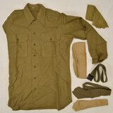 WWII US 1943 Uniform Shirt and Ties