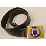 1930s Augusta Military Academy Belt & Buckle