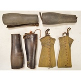 US WWI/WWII Leather Gaiters