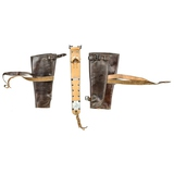 US WWI Leather Leggings
