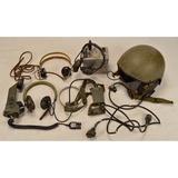 Radio Headset Lot